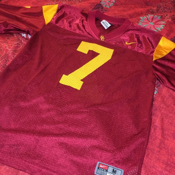 finest selection e18b7 c6abd Authentic Nike USC Matt Barkley Jersey
